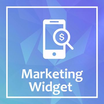 Marketing Widget - nopcommerc plugin -
